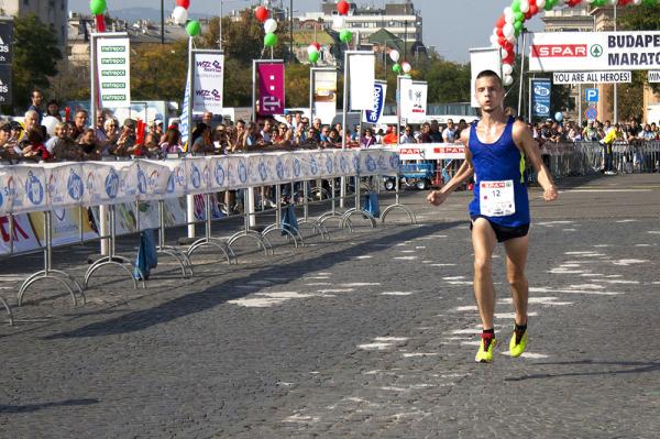 Budapest Maraton befutó
